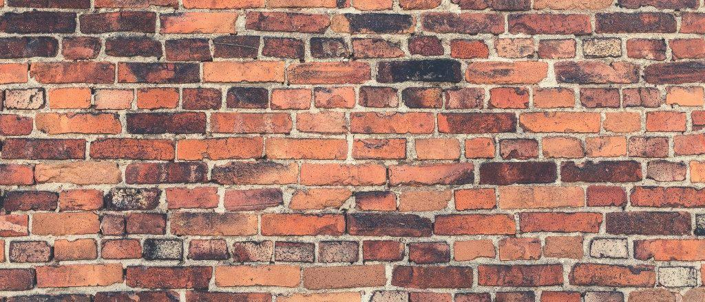 brick wall blocking sight